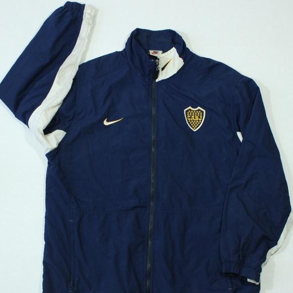 Vintage Nike Boca Juniors Football Soccer Jacket. M 5bb948749539f7b437269625 772e000bd4a65